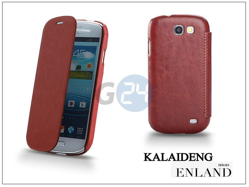 Samsung i8730 galaxy express flipes tok - kalaideng enland series - brown KD-0285