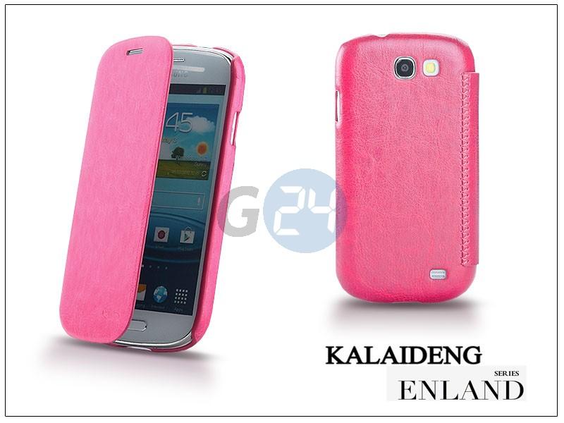 Samsung i8730 galaxy express flipes tok - kalaideng enland series - dark pink KD-0042