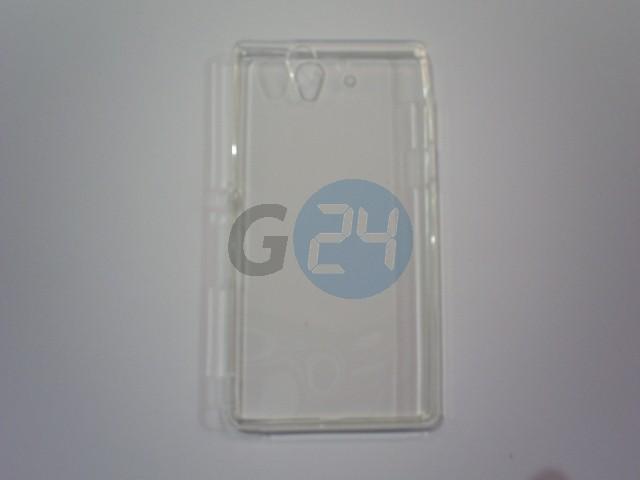 C6603 xperia z átlátszó víztiszta szilikontok Xperia Z  E005642