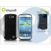 Samsung i8730 galaxy express hátlap - muvit minigel - black I-MUSKI0235