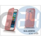 Samsung i8260 galaxy core flipes tok - kalaideng enland series - pink KD-0048