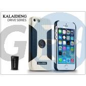 Apple iphone 5/5s hátlap szellőzőrácsba illeszthető autós tartónak - kalaideng drive series - white/black KD-0288