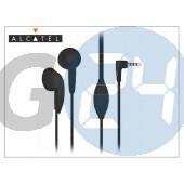 Alcatel gyári sztereó j.b. szett - ccb3160a15c4 black - 3,5 mm jack (csomagolás nélküli) ALC-0012