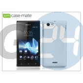 Sony xperia j (st26i) hátlap - case-mate barely there - white CM024596