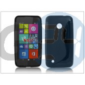 Nokia lumia 530 szilikon hátlap - s-line - fekete PT-1903