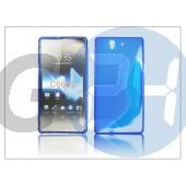 Sony xperia z (c6603) szilikon hátlap - kék - s-line PT-913