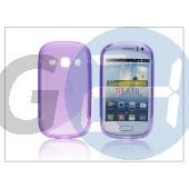Samsung s6810 galaxy fame szilikon hátlap - s-line - lila PT-1055