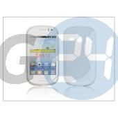 Samsung s6810 galaxy fame szilikon hátlap - s-line - clear PT-1057