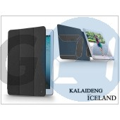 Apple ipad air 2 tok (book case) - kalaideng iceland series - black KD-0334