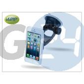 Apple iphone 5 autós telefontartó - igrip traveler kit - white IGT5-100206