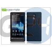 Sony xperia p (lt22i) hátlap - case-mate emerge smooth - black CM020775