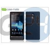 Sony xperia p (lt22i) hátlap - case-mate emerge smooth - black CM020775