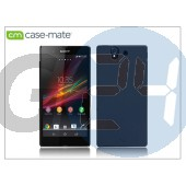 Sony xperia z (c6603) hátlap - case-mate barely there - black CM025825