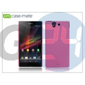 Sony xperia z (c6603) hátlap - case-mate barely there - pink CM025829