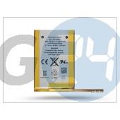 Apple ipod touch 4 gyári akkumulátor - 616-0553/616-0550 - li-ion 930 mah (csomagolás nélküli) APL-0133