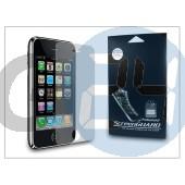 Apple iphone 3g/3gs képernyővédő fólia - anti finger - 1 db/csomag DS-IPH390AF
