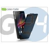 Sony xperia z (c6603) flipes tok - case-mate signature flip - black CM026511