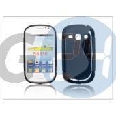 Samsung s6810 galaxy fame szilikon hátlap - s-line - fekete PT-1053