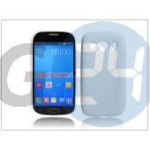 Samsung sm-g357fz galaxy ace 4 szilikon hátlap - s-line - fehér PT-2104