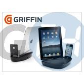 Apple iphone 3g/3gs/4/4s + ipad/ipad2 asztali tartó töltő funkcióval - griffin powerdock dual G021