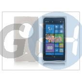 Nokia lumia 1020 szilikon hátlap - s-line - fehér PT-1311