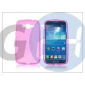 Samsung sm-g386 galaxy core lte szilikon hátlap - s-line - pink PT-1776