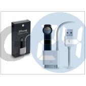 Apple iphone 2g/3g/3gs/4/4s/ipad eredeti, gyári usb töltő- és adatkábel 100 cm-es vezetékkel, bluetooth headset töltővel - ma820g/a APL-0018
