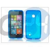 Nokia lumia 530 szilikon hátlap - s-line - kék PT-2011
