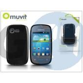 Samsung s5310 galaxy pocket neo hátlap - muvit minigel - black I-MUSKI0242