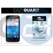 Alcatel one touch m pop ot-5020d képernyővédő fólia - 2 db/csomag (crystal/antireflex) LA-465