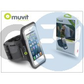 Apple iphone 4/4s/5/5c/5s kartok sportoláshoz - muvit armband - black I-MUARM0011