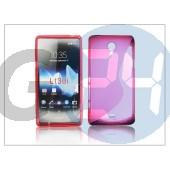 Sony xperia t (lt30p) szilikon hátlap - s-line - pink PT-849