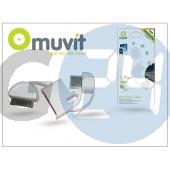 Apple iphone 2g/3g/3gs/4/4s/ipad/ipad2/ipod usb adat- és töltőkábel - muvit keychain cable - fehér I-MUUSC0047