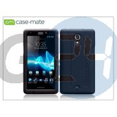 Sony xperia t (lt30p) hátlap - case-mate tough - black CM022842