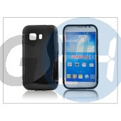 Samsung sm-g130 galaxy young 2 szilikon hátlap - s-line - fekete PT-2013
