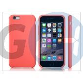 Apple iphone 6 eredeti gyári szilikon hátlap - mgxt2zm/a - pink APL-0166
