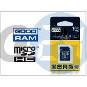 16 gb microsdhc™ class 4 memóriakártya + sd adapter GR-016