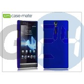 Sony xperia s (lt26i) hátlap - case-mate barely there - blue CM020311
