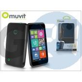 Nokia lumia 530 hátlap - muvit minigel - black I-MUSKI0431