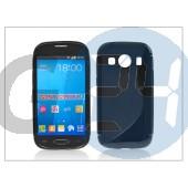 Samsung sm-g357fz galaxy ace 4 szilikon hátlap - s-line - fekete PT-2105