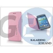 Samsung i8260 galaxy core flipes tok - kalaideng iceland series - pink KD-0070