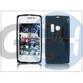 Nokia lumia 505 szilikon hátlap - s-line - fekete PT-1583