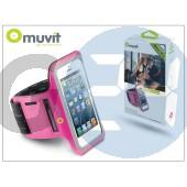 Apple iphone 4/4s/5/5c/5s kartok sportoláshoz - muvit armband - pink I-MUARM0012