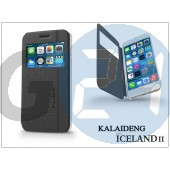 Apple iphone 6 plus flipes tok - kalaideng iceland 2 series view cover - black KD-0295