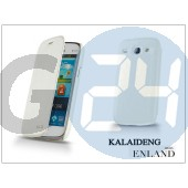Samsung i8260 galaxy core flipes tok - kalaideng enland series - white KD-0049