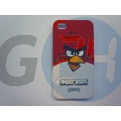 4/4s gear4 angry birds bliszteres piros hátlap eredeti + fólia iPhone4/4s  E000275