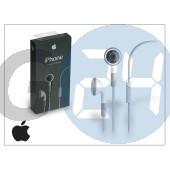 Apple iphone 3g/3gs/4/4s eredeti sztereó headset mikrofonnal - ma814l/a - fehér APL-0033