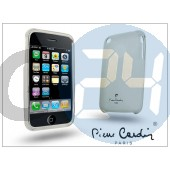 Apple iphone 3g/3gs szilikon hátlap - fehér LMIP3-WT