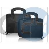 Apple ipad/ipad2/ipad3 füles-zippzáros táska - fekete DZ-008