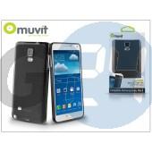 Samsung sm-n910 galaxy note 4 hátlap - muvit minigel - black I-MUSKI0400